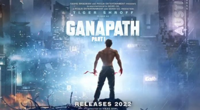 ganapath-teaser-poster