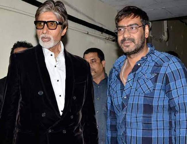 Amitabh Bachchan Ajay Devgan