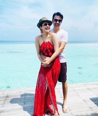 Kajal agrawal Honeymoon