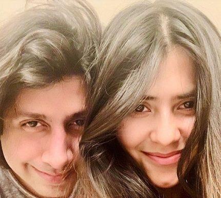 Ekta Kapoor and her boyfriend