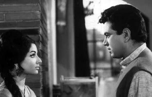 Dharmendra and Sharmila Taigor