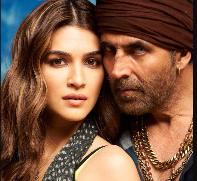Kriti Sanon And Akshay Kumar