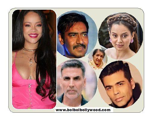 Rihaana And Bollywood
