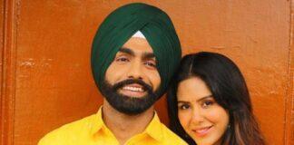 Ammy Virk and Sonam Bajwa