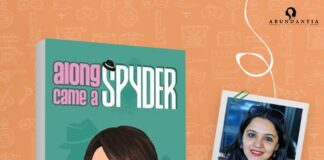 Apeksha Rao book Along Came A Spyder