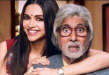 Deepika Padukone and Amitabh Bachchan