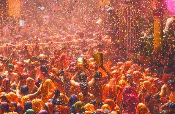 Holi Celebration on Zee TV