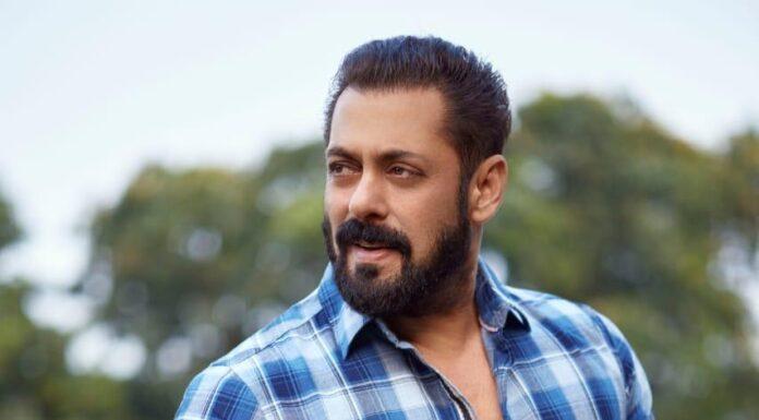 Salman Khan in Radhe