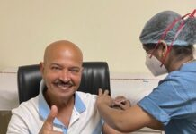 Rakesh Roshan first dose of covid vaccination
