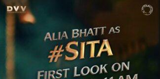 Alia Bhatt in RRR as sita