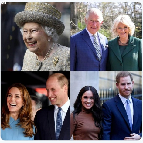 Kangana Ranaut supporting queen elizabeth
