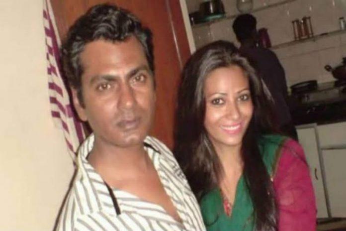 Nawaz uddin and Wife Aaliya
