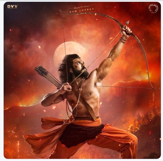 RRR Ram Charan Teja First Look