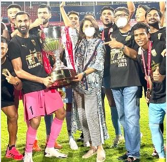 Ranbir Kapoor team won the match