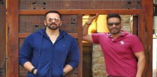 Rohit Shetty and Ajay Devgan