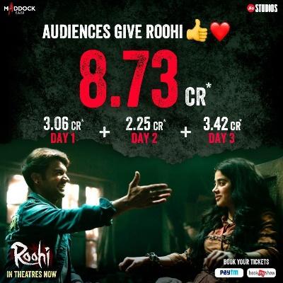 Roohi Movie third day