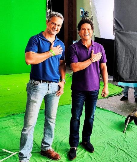 Sachin Tendulkar and Kunal Livpur