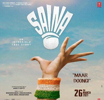 Saina Nehwal Biopic 16 March