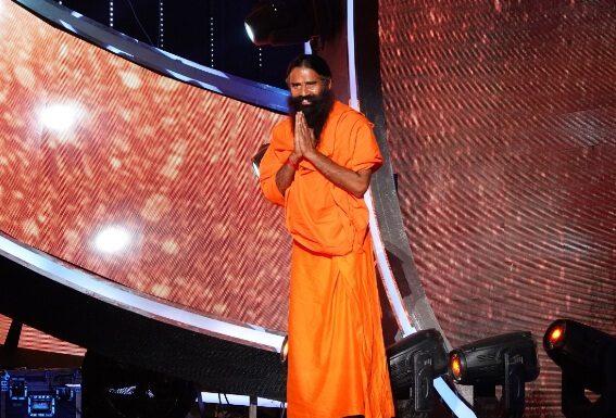 Baba Ramdev on Indian Idol