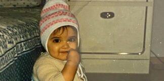 Deepika Padukone in childhood