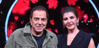 Anita Raj and Dharmendra