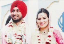 Honey Singh and wife Shalini Talwar