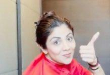 Shilpa Shetty Hair Cut